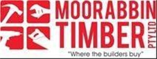 "MOORABBIN TIMBER PTY LTD ""WHERE THE BUILDERS BUY"" trademark"